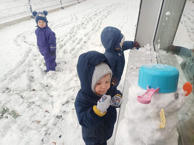 Zima u maluszków